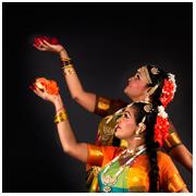 Nivethitha and Bhavana